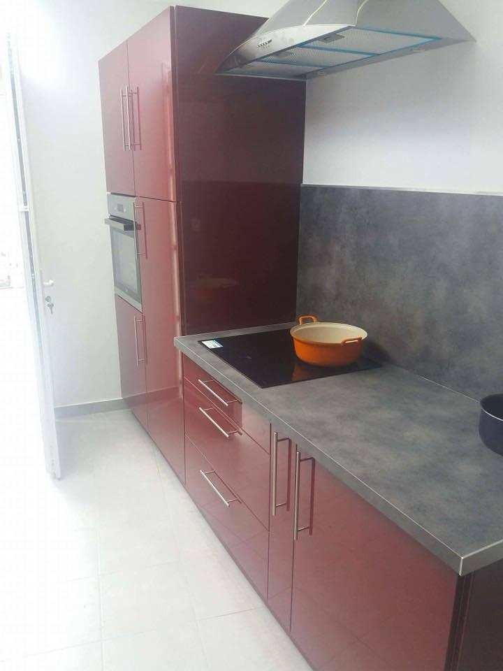 Renovation D Extension De Maison Cuisine Equipee Facade Enduit