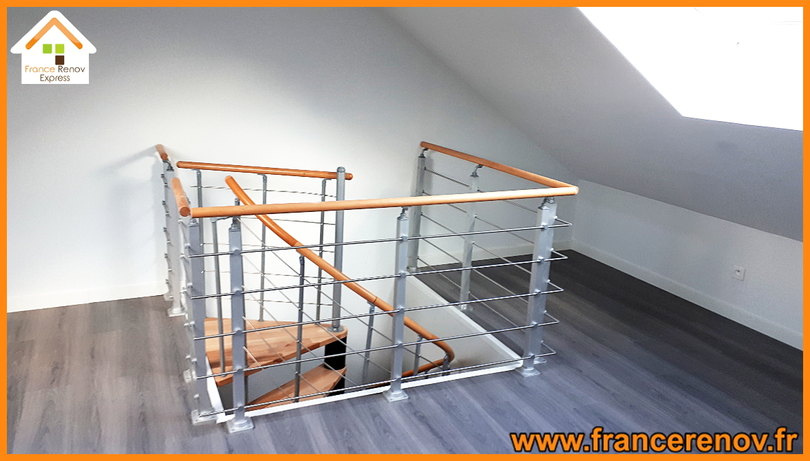 Creation D Une Tremie Escalier aménagement de combles à ronchin