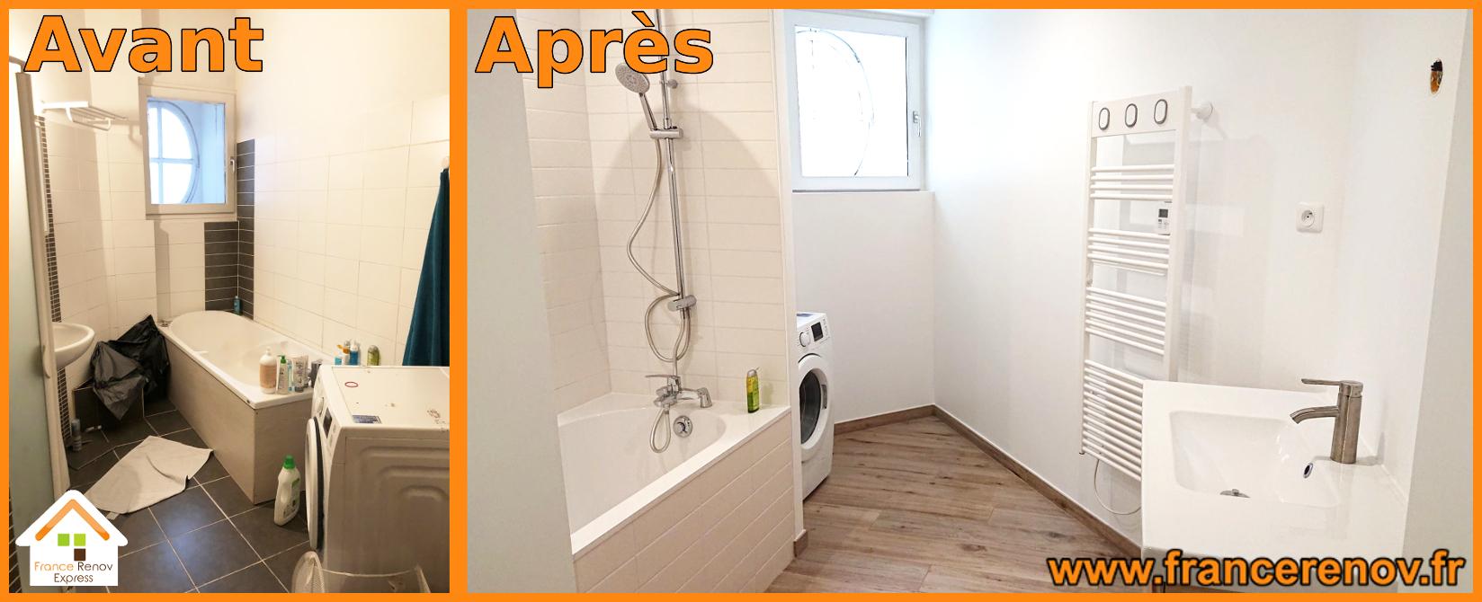 Rénovation complète d\'une salle de bains à Lille